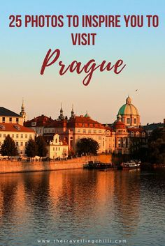 Prague is a beautiful city that attracts a lot of visitors every year. Enjoy these 25 photos that will inspire you to visit Prague in the Czech Republic. Prague Travel Guide, Travel Tips For Europe, Europe Destinations, Travel Advice, Travel Guides, Travel List, Travel Pictures, Travel Photos, Prague Photos