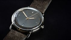 VAPAUS Veli - 1950s inspired luxury hand-wound Swiss watches project video thumbnail
