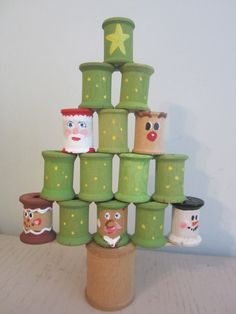 How To Make An Advent Calendar | Wooden Spools, Advent Calendars And  Calendar Ideas
