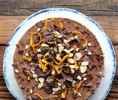 Raw Chocolate Orange-Cardamom Torte
