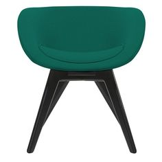 Tom Dixon Scoop Side Chair Low with Wooden Legs | AllModern