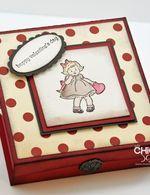 Greeting Card Kids Valentines Box