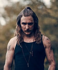 """Kyle Gallner (American Sniper, The Walking Dead) stars in """"Outsiders"""" as Hasil Farrell, a young member of the mountain-dwelling clan who finds himself torn between two worlds."""