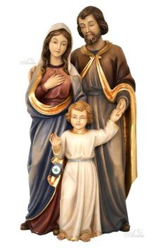 Holy Family Woodcarved Statue | AVILA
