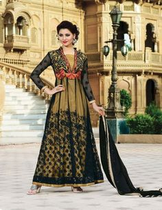Latest New Anarkali Frocks Designs Collection 2015-16 For Young Ladies