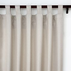 Top Finel Thermal Insulated Solid Faux Linen Blackout curtain Window Treatments Panels Tab Top,Cream,54'x84',Single Panel *** Read more reviews of the product by visiting the link on the image. (This is an affiliate link and I receive a commission for the sales)