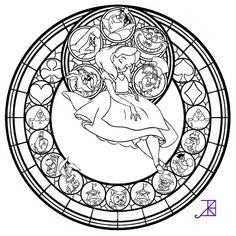 Christmas Stained Glass Window Coloring Pages | Best Coloring Page ...