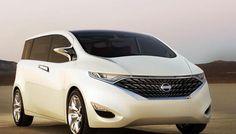 The Nissan Forum minivan, with SkyView monoroof. www.citenissan.com