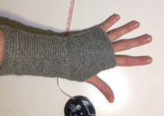 Hæklede håndledsvarmere