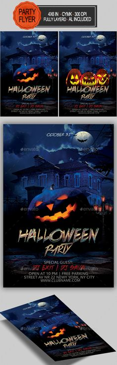 #Halloween #Flyer - Holidays Events