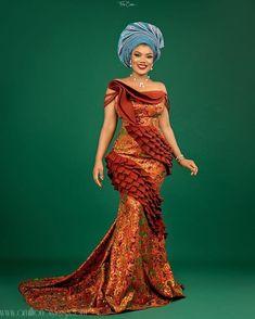 Nigerian Lace Styles, Nigerian Dress, Ankara Long Gown Styles, African Lace Styles, Lace Dress Styles, African Lace Dresses, Latest African Fashion Dresses, African Print Fashion, Ankara Styles