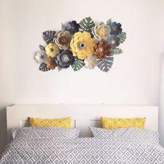 747 отметок «Нравится», 5 комментариев — Paper Flowers  Бумажные Цветы (@papermintdecor) в Instagram: «Продолжаем тему оформления дома! Правильно подобранный сет цветов может стать прекрасным…»