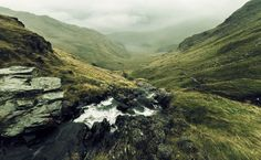 Haweswater Reservoir, Valley of Mardale, County of Cumbria, England by Tom Whitfield