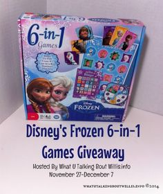Disney's Frozen 6-in-1 Games Giveaway (ends 12/7)