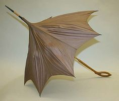 Parasol, Late 19thc., American, Made of silk