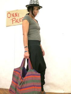 Oversized  Tasche Ethno  Schultertasche von OnniPalermo auf Etsy