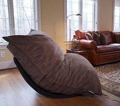 LoveSac 5-piece Double Sac w/Rocker Base & Pillows