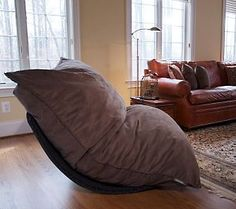 LoveSac 5-piece Double Sac w/Rocker Base & Pillows