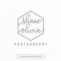 This simple, geometric initial / name logo is versatile enough for almost any business! The premade logo can be used for a photography business, jewelry making, boutique, event planning, salon, and more. The minimalist design gives it a modern feel, while keeping it classic with simple calligraphy. YOU RECEIVE: 1 hi-res JPG, 300 dpi 1 hi-res PNG, 300 dpi 1 flattened, single layer .psd file PLEASE PROVIDE: - Your business name - Your tagline - Your email address If you are interested in ...