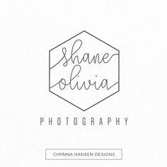 Premade Logo | Photography | Initial Logo | Minimalist Logo | Simple Logo…