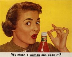 This is a Buzzfeed article with pictures of really sexist adds from the 50's. Most of them portray women as being dumb or weak, some suggest that they belong to or are owned by their husbands. It is quite obvious from these ads that women were definitely seen as inferior to men. Ads today still have some of the same poor values as these, but I would like to think that we are making some advancements and the sexism is more inferential than overt.