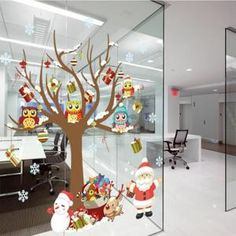 Merry Xmas Décorations De Noël Sticker Fenêtre Wall Art Autocollants Sgg # - Achat / Vente stickers - Cdiscount