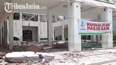 GP Ansor dan Pemuda Muhammadiyah Surabaya Kawal Pembangunan Kembali Masjid As Sakinah Berdesain Baru