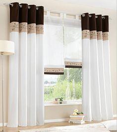 cortinas modernas con cenefas buscar con google
