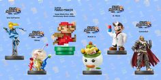 Gamescom 2015 - New amiibos Launching Sept 11th and 25th - http://techraptor.net/content/new-amiibos-launching-sept-11th-25th | Gaming, News