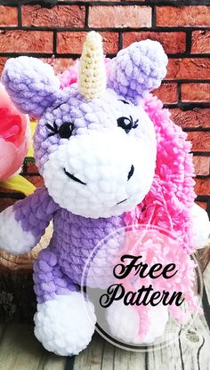 Part 1 - Free Amigurumi Unicorn Pattern Ideas Colorful! Part 1 , amigurumi patterns free; amigurumi for begin - Crochet Unicorn Pattern Free, Crochet Patterns Amigurumi, Crochet Dolls, Free Crochet, Free Pattern, Pattern Ideas, Amigurumi Doll, Amigurumi Free, Amigurumi Minta