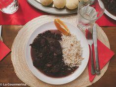 Feijoada (brasilianischer Bohneneintopf) / Feijoada (brasilian pot with beans and meat)
