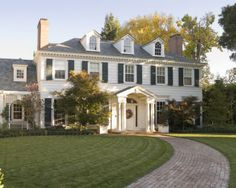 Skurman.com - Georgian Architecture - A Colonial Country House