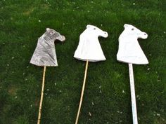 Alexander the Great's horse. Easy craft project with cardboard.