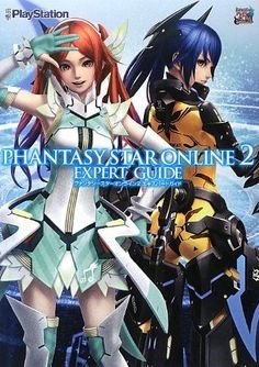 Phantasy Star Online 2 Expert Game Guide Book Costume Photo and Data