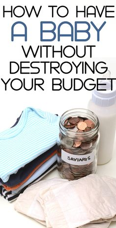 saving money when having a baby - preparing for a baby can be EXPENSIVE - use these tips to cut costs of having a baby. (FREE baby stuff here too!)