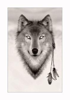 Spirit Wolf by miskis
