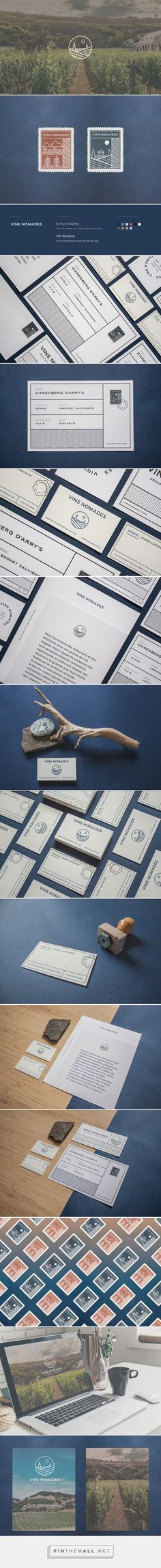 Vins Nomades Identity & Branding on Behance, by Alexandre Mercier