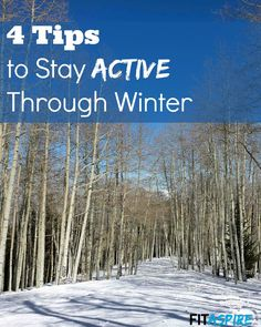 This is the time of year that many people are tempted to go into hibernation. But this year that doesn't have to describe you! Use these tips to set & reach new goals, so you can embrace the season and reach new goals this year at FITaspire.com.