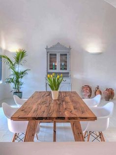 mesa rústica madera a medida Dining Room, Dining Table, Home Improvement, Sweet Home, Armin, Country Living, Kitchen, Tables, Furniture