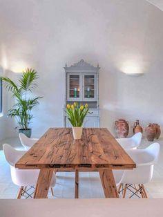 mesa rústica madera a medida