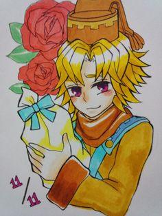 シードルくん誕生日おめでとう(//∇//)!!! マジバケで一番好きです!!!#マジバケ pic.twitter.com/PDyu9dPybD