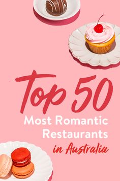 Explore our Top 50 Most Romantic Restaurant list so you can book the perfect spot for your upcoming Valentine's date in Australia. See the full list to get started. Romantic Restaurants, Most Romantic, Special Occasion, Australia, Explore, Book, Sweet, Candy, Books