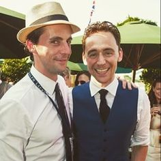 Matthew Goode & Tom Hiddleston Matthew Goode, A Discovery Of Witches, Tom Hiddleston, Panama Hat, Gentleman, Toms, People, Fashion, Moda