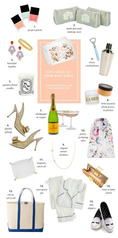 Thoughtful Bridesmaid gifts from Sarah at Note To Self Via Snippet & Ink | The Tres Chic