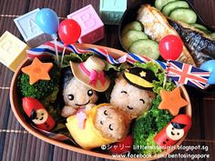 Bento Singapore by Shirley 楽しくてお弁当とキャラベン: 英国王室・ロイヤルベビーのキャラベン Prince William and Kate・Royal Baby Bento