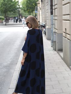 Loving this spotted dress from Marimekko, it´s just the right mix of fun and comfortability for the more relaxed summer days. You can either funk it up wit...