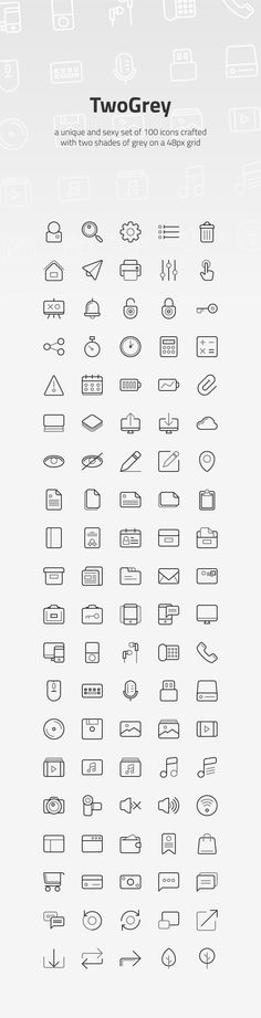 TwoGrey Icons Set - Get Free Resources Icon Design, Web Design, Logo Design, Graphic Design, Free Vector Art, Vector Icons, Small Icons, Like Icon, Doodle Icon