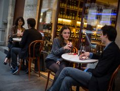 But in the past three years, a new breed of wine bar has sprung up in the city, especially on the Right Bank, casual places that pair though...