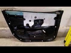 2011-2017 Mitsubishi Outlander Sport - Plastic Door Panel Removed To Upgrade OEM Speaker - YouTube