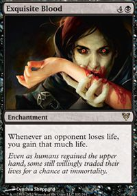 Exquisite Blood from Avacyn Restored at TCGplayer.com as low as $0.15